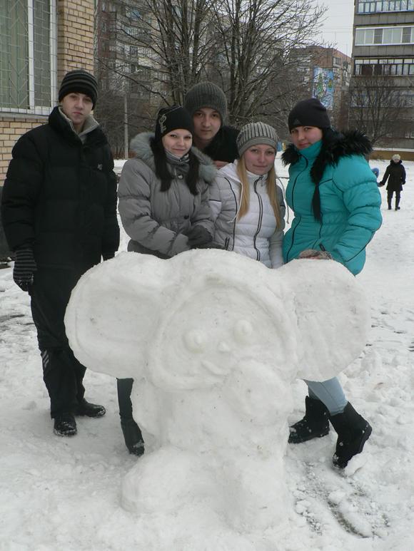 Снежные фигурки своими руками