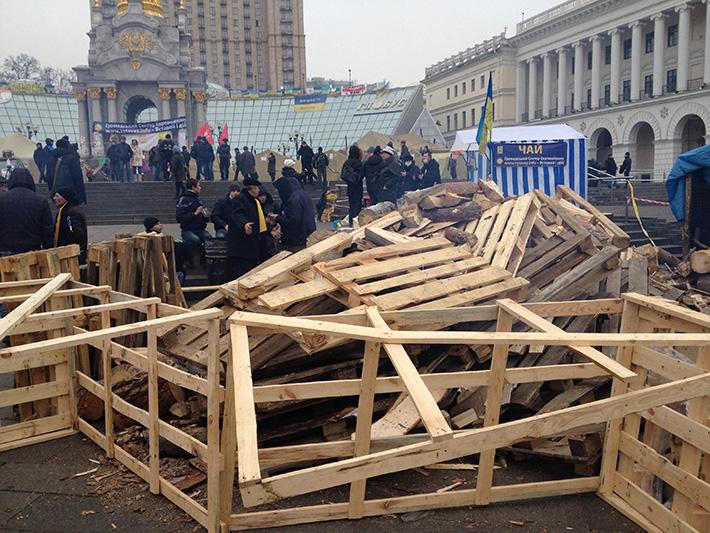 Хроники Евромайдана. День милиции (Фоторепортаж)