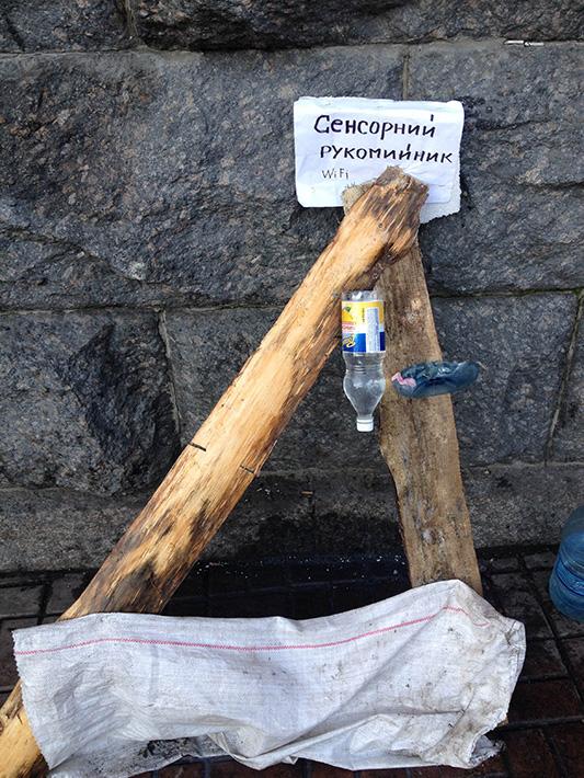 Хроники Евромайдана. Безлюдный понедельник (Фоторепортаж)