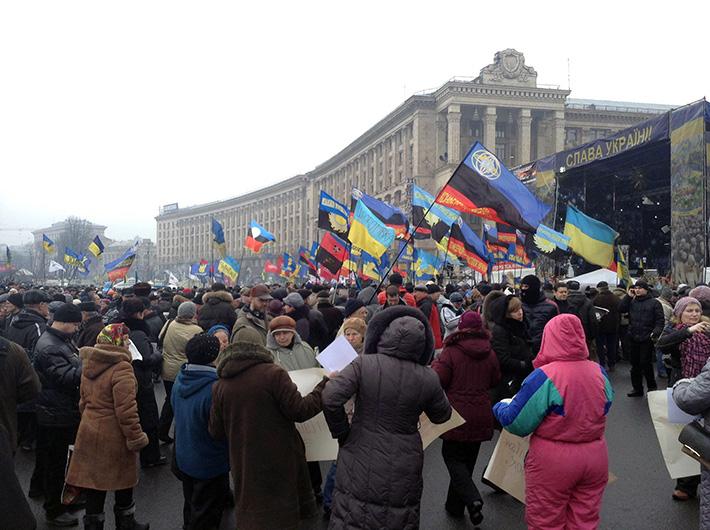 В Киеве началось 10-е юбилейное Народное вече (Фото)