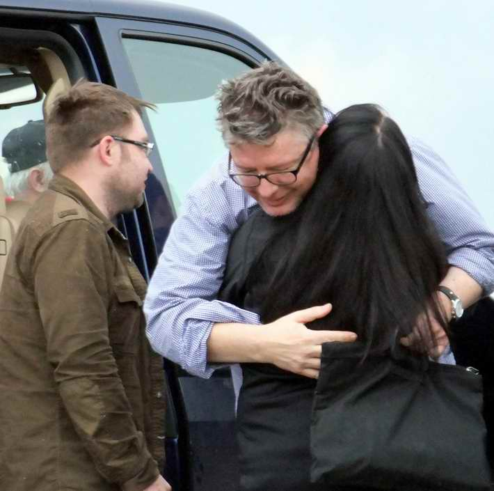 """Освобождение. Российские переговорщики благодарны похитителям миссии ОБСЕ за """"добрую волю"""" (Фото)"""