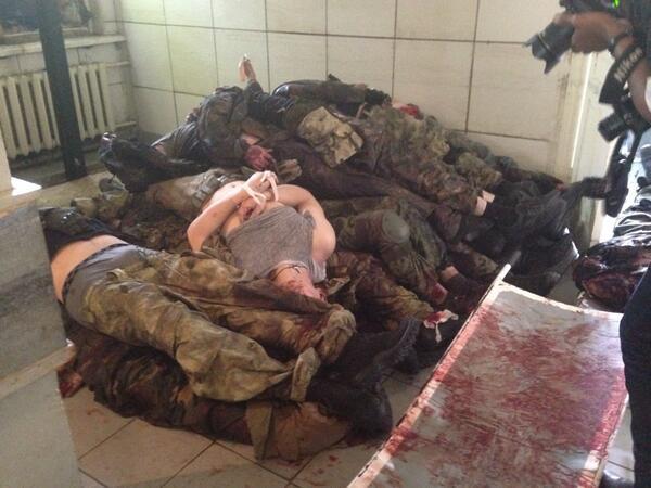 Донецкие и горловские морги переполнены трупами террористов. «Бес» дал команду взорвать (Фото)