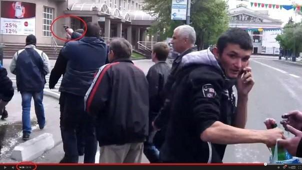 """Нацгвардия с помощью фото опровергает """"причастность военнослужащих к выстрелам в сторону мирного населения в Мариуполе 9 мая"""""""