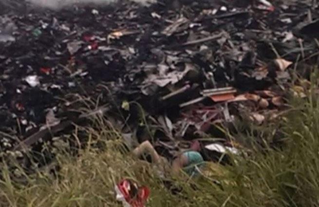 """Первым о крушении самолета Malaysia Airlines сообщил """"Стрелок"""". На место аварии прибыли российские журналисты (Фото)"""