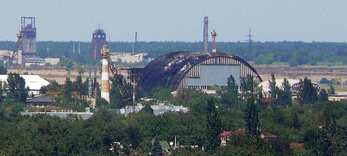 ФОТОФАКТ. Международный аэропорт Донецка серьезно пострадал в результате боев