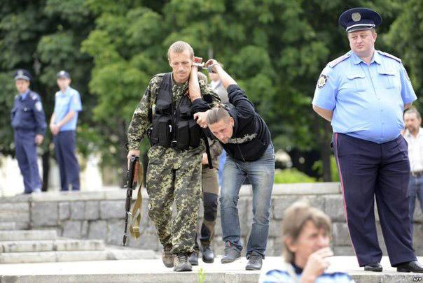 Из жизни в оккупированном Донецке
