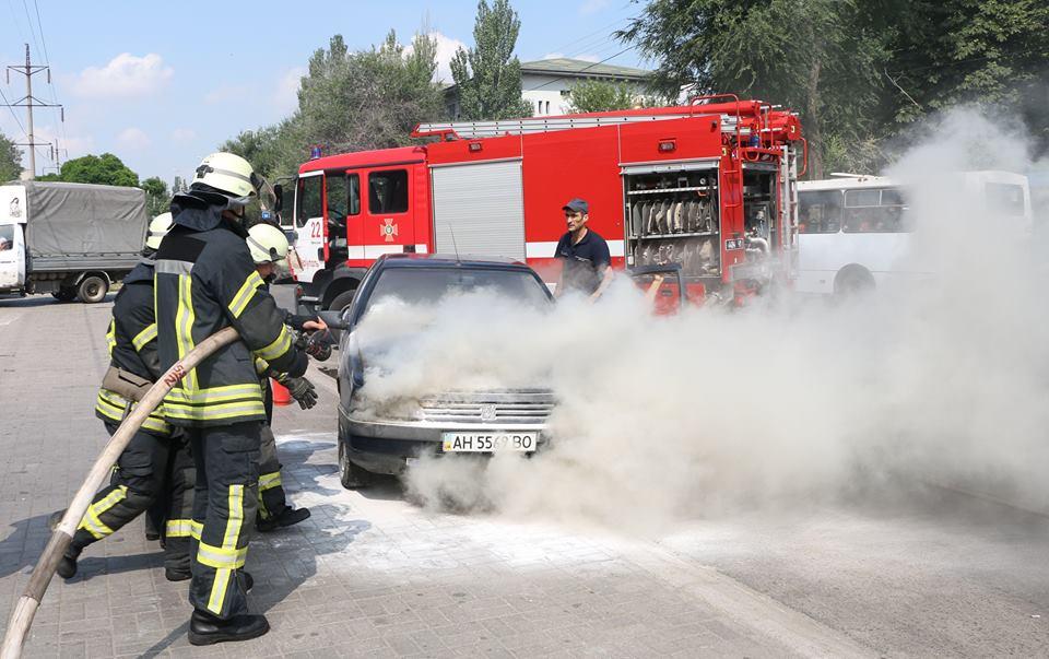 Причины пожаров в автомобилях с фото