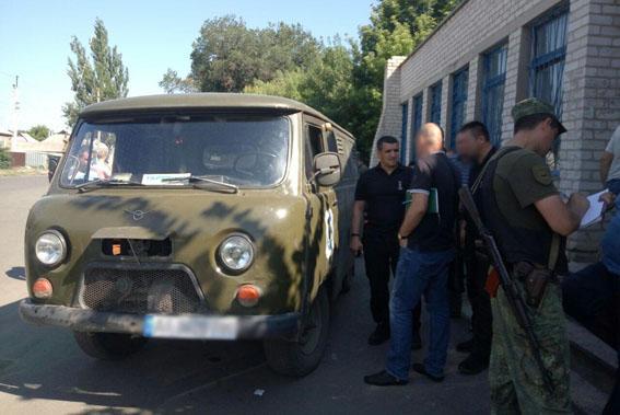 ВКраматорске расстреляли почтовый автомобиль