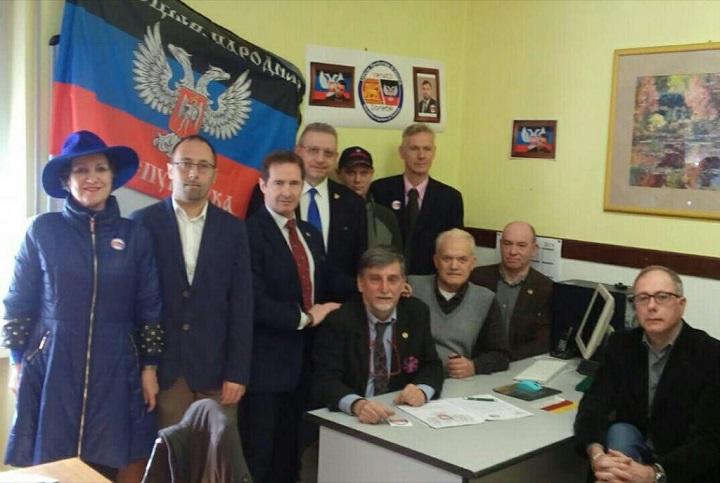 Украина сообщила  протест Италии из-за открытия представительства ДНР