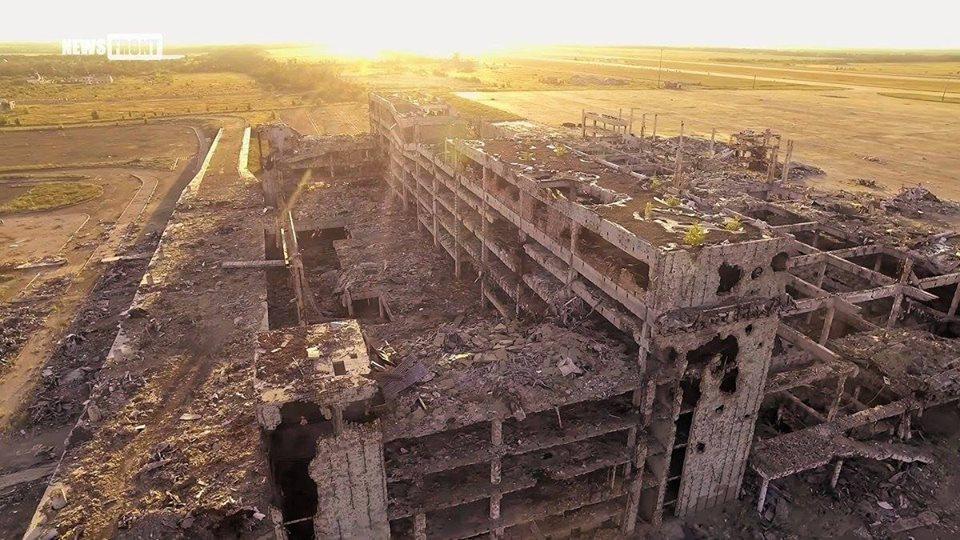 Как выглядит аэропорт после боевых действий