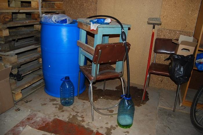 Подпольный цех попроизводству поддельного алкоголя ликвидирован вБратске