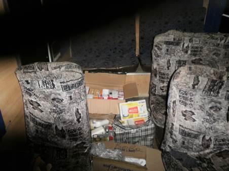 СБУ не пустила к террористам сотни контрабандных мобильников