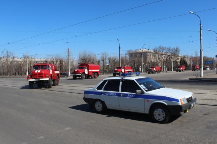 Луганчане поехали спасать Киев (фото)