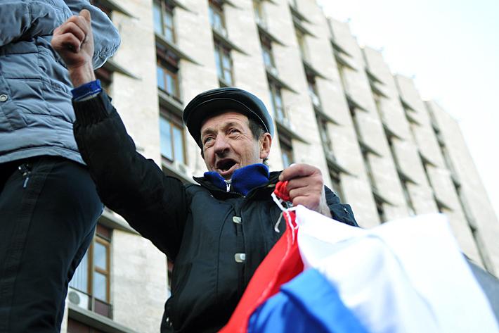 """День """"Русского гнева"""" в Донецке. Фоторепортаж"""