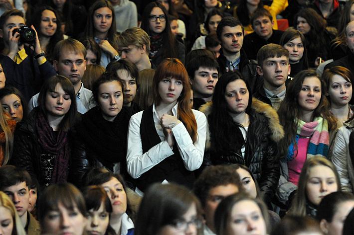 ФОТОФАКТ. Святослав Вакарчук встретился с донецкими студентами