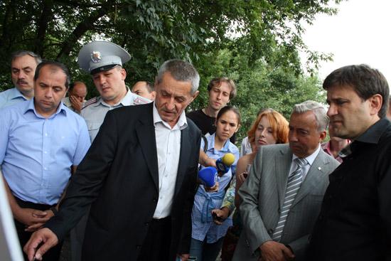 Слева направо: начальник СУ №1